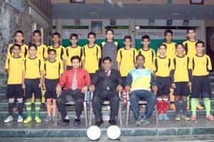 U 14 Subrato Mukharji Football Boys Team