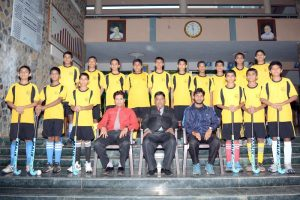 U 15 Nehru Hockey Team