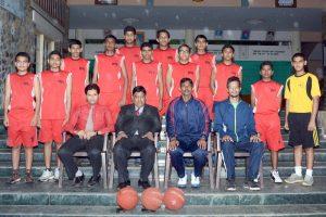 U 17 Basketball Boys Team District Champion