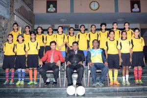 U 17 Subrato Mukharji Football Girls Team