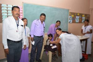 Rubella and Measles Vaccination Camp (10)