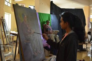 Visit to Art College Nashik (1)