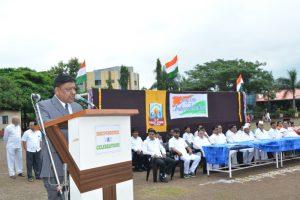 15 August Hon. Principal B N Shinde
