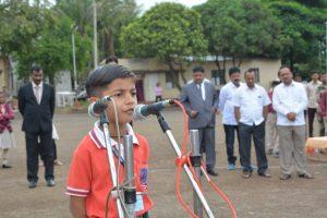 Mast.Arnav Raundal Speech Sr KG student