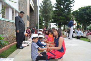 RAKSHA BANDHAN CELEBRATED BY PRIMARY SECONDARY SR SECONDARY STUDENTS (2)