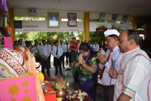 Lord Ganesha Idol Installation (3)