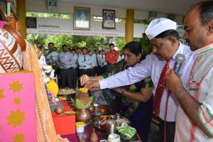 Lord Ganesha Idol Installation (5)