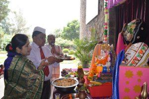 Lord Ganesha Idol Installation (7)